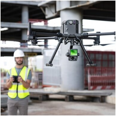 DJI LiDAR skeneris ir RGB kamera Matrice 300 RTK dronui